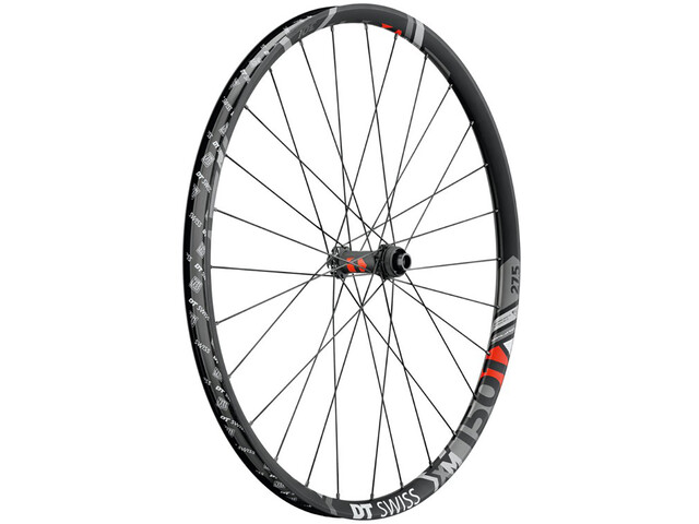 "DT Swiss XM 1501 Spline Rueda Delantera 27.5"" Disc CL 110/15mm Eje Pasante 30mm, black"